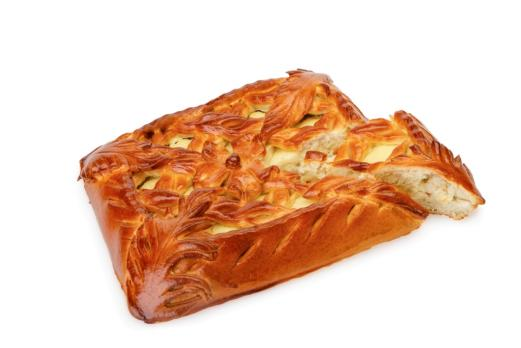 Пирог с творогом
