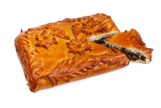 Пирог с рубленой говядиной